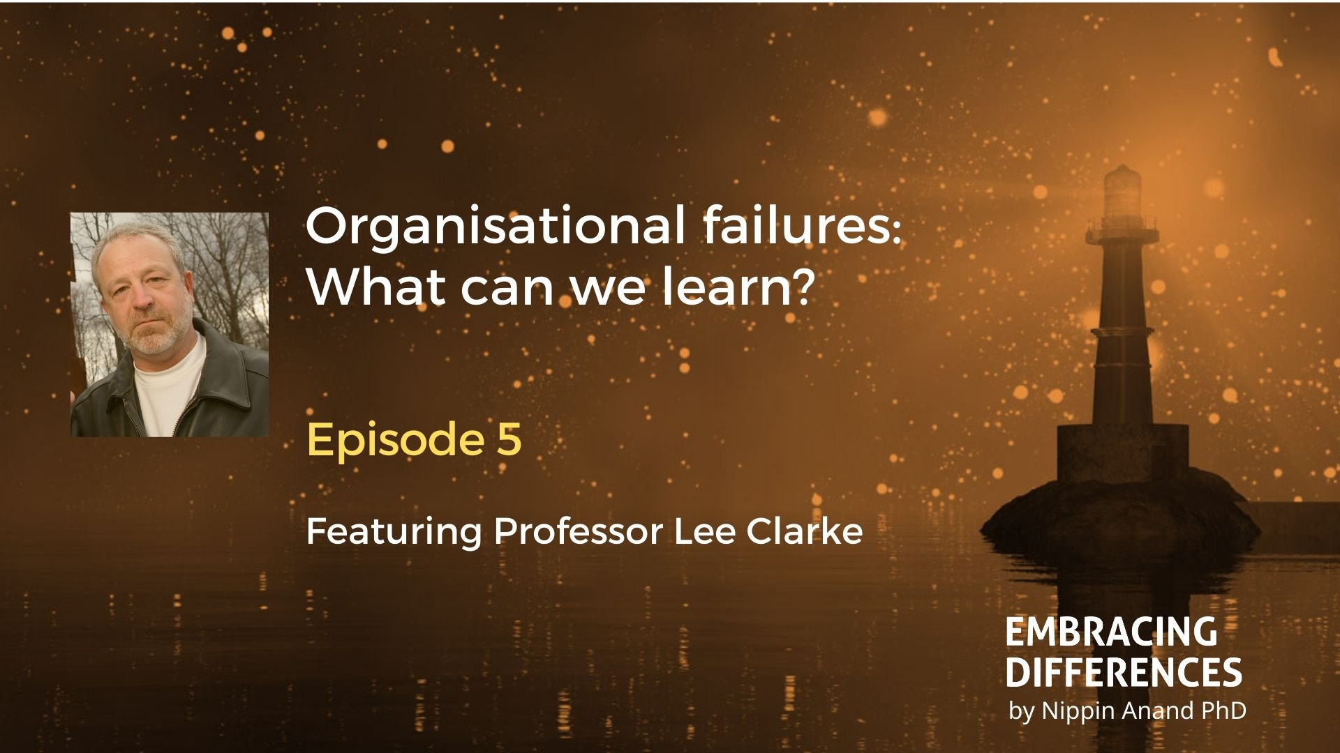 Why organisations fail? Discussions with Lee Clarke