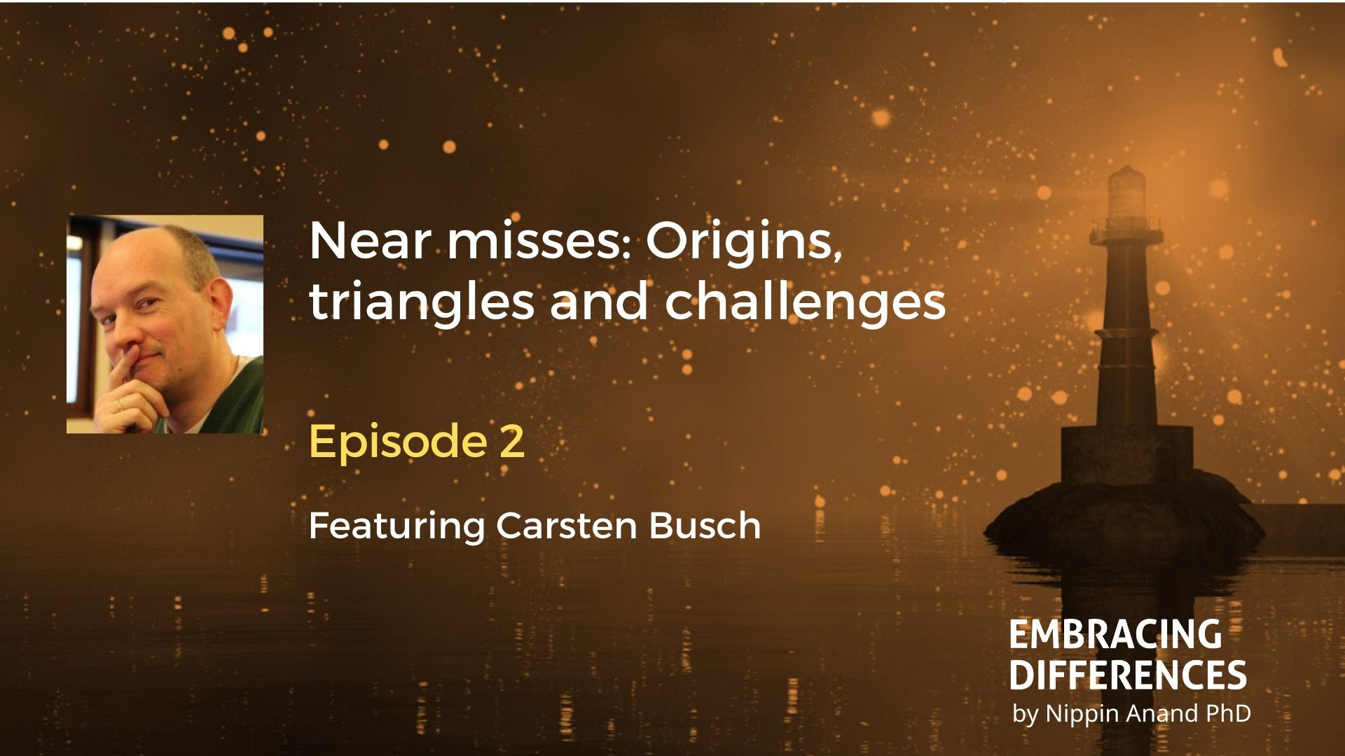Near misses: Origins, triangles and challenges