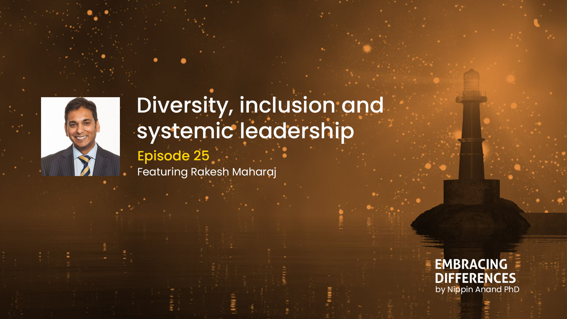 Diversity, inclusion and systemic leadership: A conversation with Rakesh Maharaj