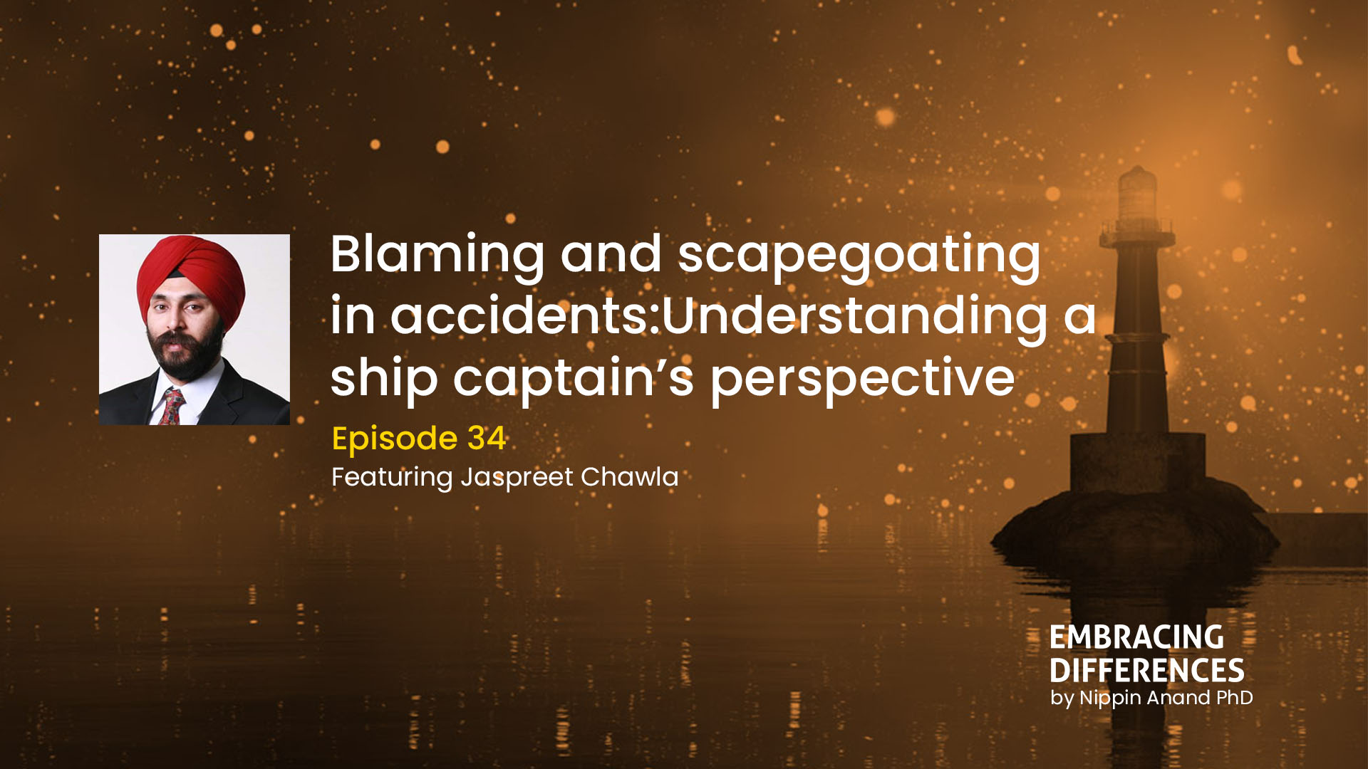 Blaming and scapegoating in accidents: Understanding a ship captain's perspective